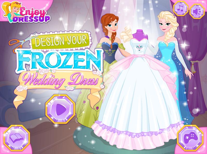 jeux pour fille créer robe de mariee